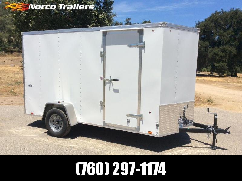 2019 Look Trailers ST V-nose 6' x 12' Enclosed Cargo Trailer