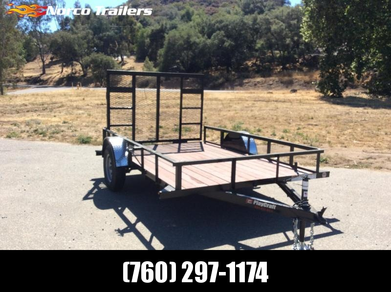 "2018 Sun Country Playcraft 77"" x 10' Single Axle Utility Trailer"