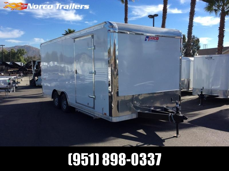 2019 Pace American Shadow GT 8.5' x 20' Tandem Axle Car / Racing Trailer
