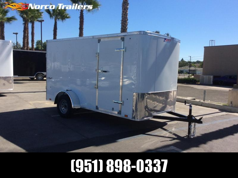 2019 Look Trailers Outback 6' x 12' Single Axle Enclosed Cargo Trailer