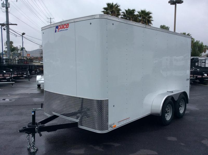 2019 Pace American Outback 7\' x 14\' Enclosed Cargo Trailer ...