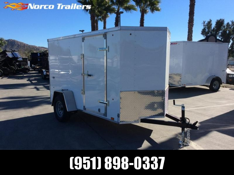 2019 Look Trailers STVLC 5' x 10' Single Axle Enclosed Cargo Trailer