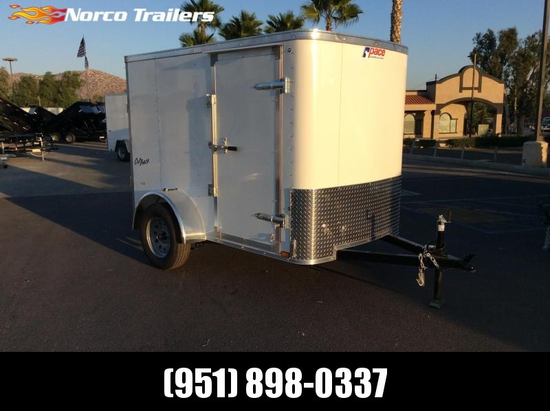 2019 Pace American Outback 5' x 8' Single Axle Enclosed Cargo Trailer