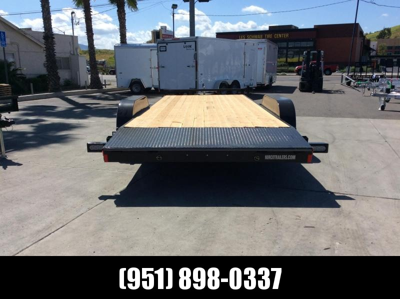 "2019 Innovative Trailer Mfg. Wood Floor Car Hauler 83"" x 20' Flatbed Trailer"