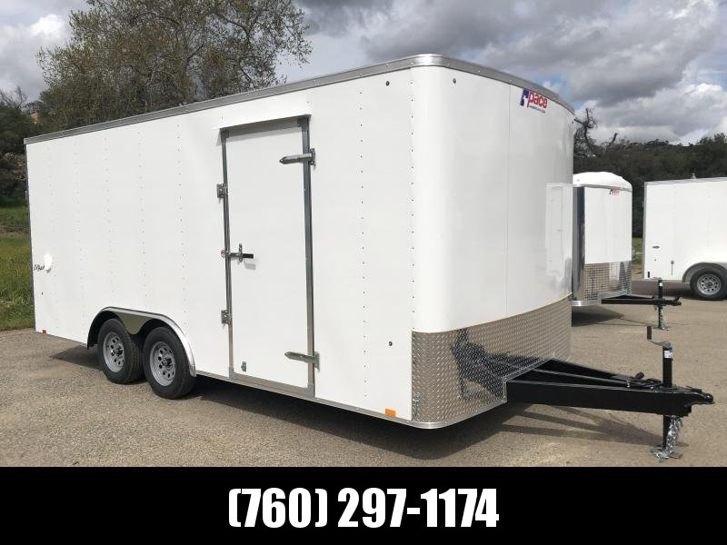 2019 Pace American Outback 8.5' x 18' 7K Car Trailer
