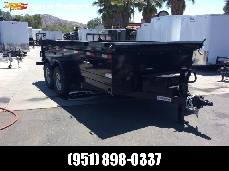 "2018 Innovative Trailer Mfg. 83"" X 14' Dump Trailer"