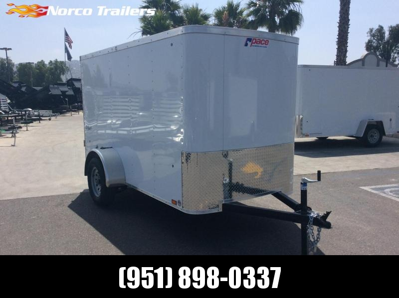 2019 Pace American Outback 5 x 10 Single Axle Enclosed Cargo Trailer