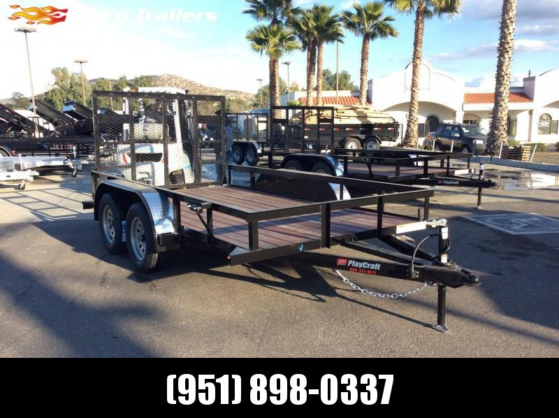 "2019 Sun Country 77"" x 12' Tandem Axle Utility Trailer"