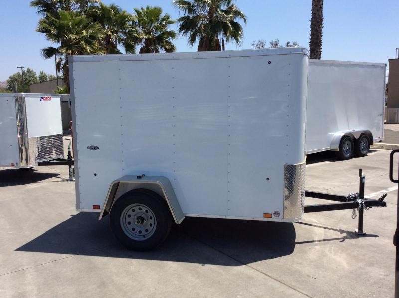 2019 Look Trailers STLC 5' x 8' Single Axle Enclosed Cargo Trailer