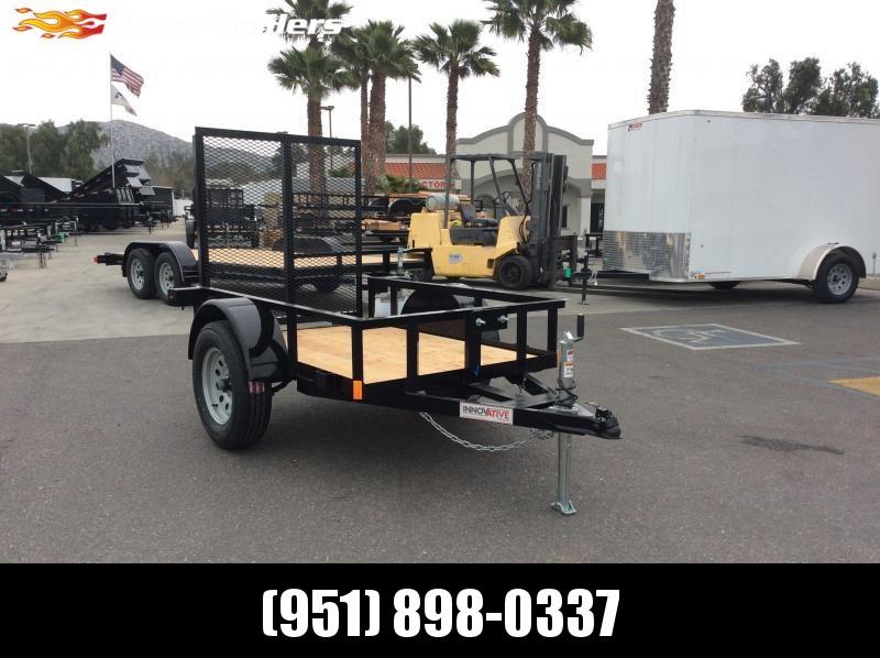 2019 Innovative Trailer Mfg. Economy Wood Single axle 48 x 6 Utility Trailer