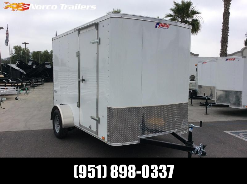 2019 Pace American Outback 6 x 10 Single Axle Enclosed Cargo Trailer