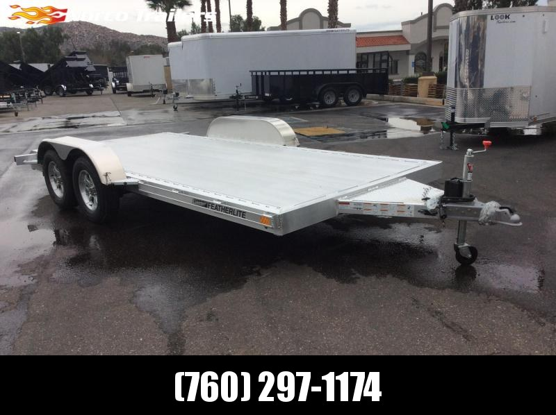 2019 Featherlite 3182 8.5' x 16' Flatbed Trailer