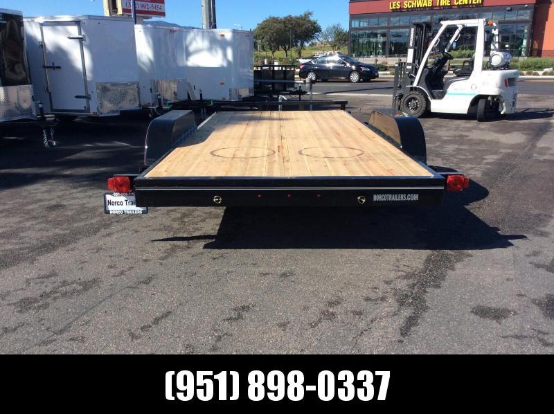 "2019 Innovative Trailer Mfg. Economy Wood Car Hauler 83"" x 16' Flatbed Trailer"