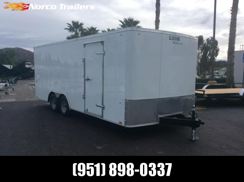 2019 Look Trailers ST 8.5 x 20 Tandem Axle Car / Racing Trailer