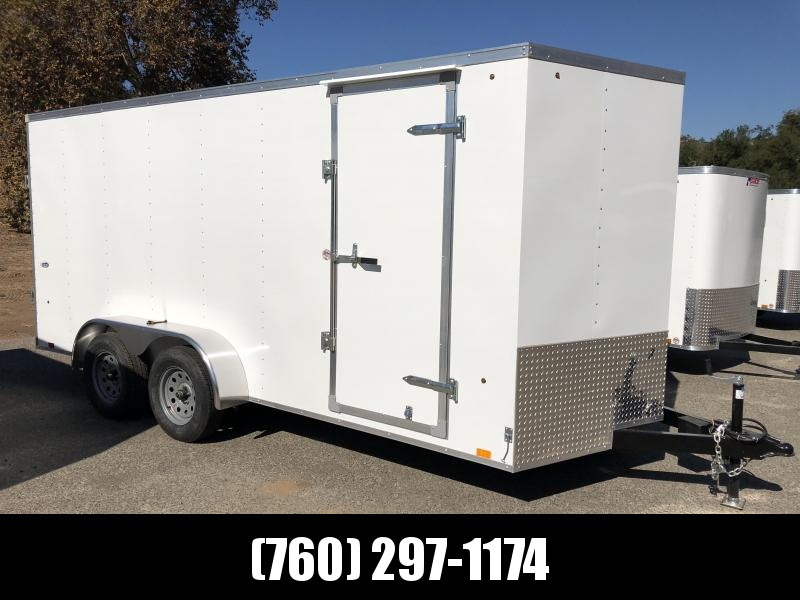 2019 Look Trailers STVLC Vnose 7' x 16' Enclosed Cargo Trailer