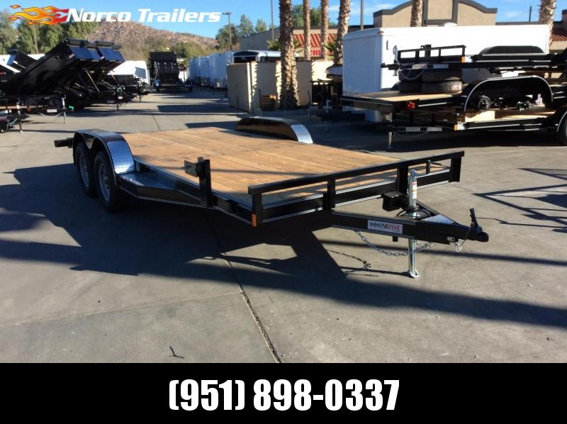 2019 Innovative Trailer Mfg. 83 x 18 Wood Floor Flatbed Trailer