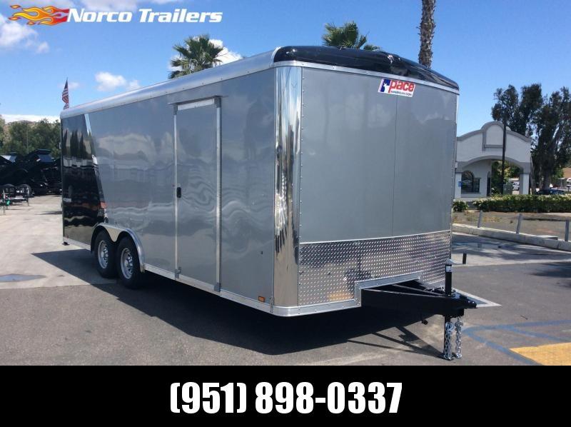 2019 Pace American Cargo Sport 8.5 x 20 Tandem Axle Car / Racing Trailer in Ashburn, VA