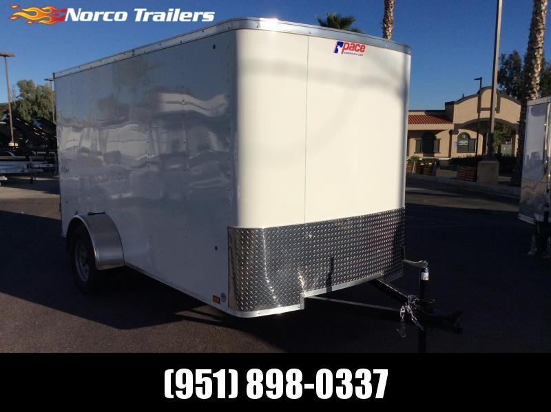 2019 Pace American Outback 6 x 12 Single Axle Enclosed Cargo Trailer