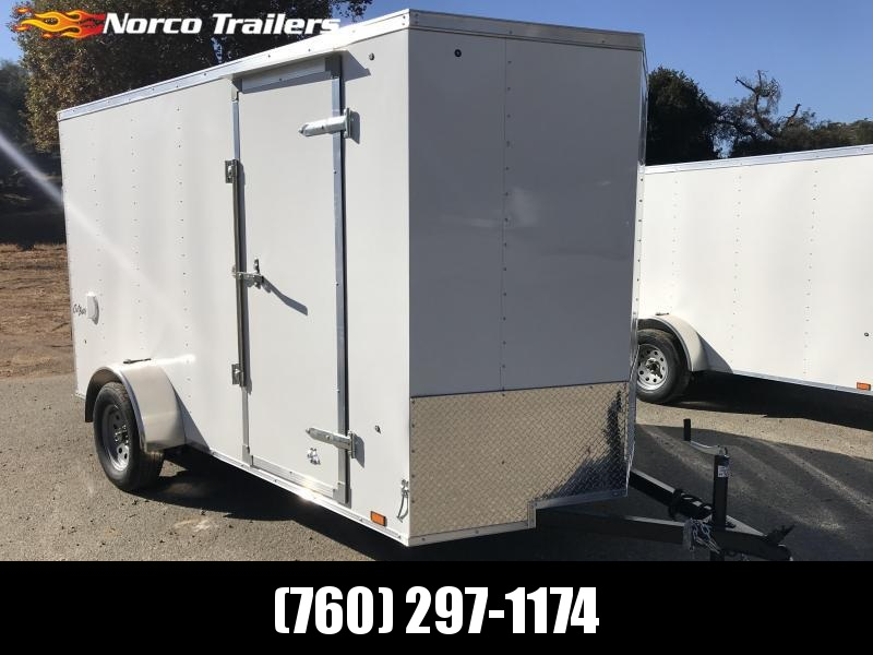 2019 Pace American Outback Vnose 6' x 12' Enclosed Cargo Trailer in Ashburn, VA