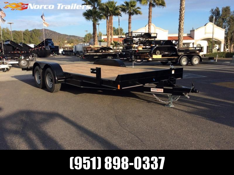 2019 Innovative Trailer Mfg. MD EQ 82 X 18 Flatbed Trailer