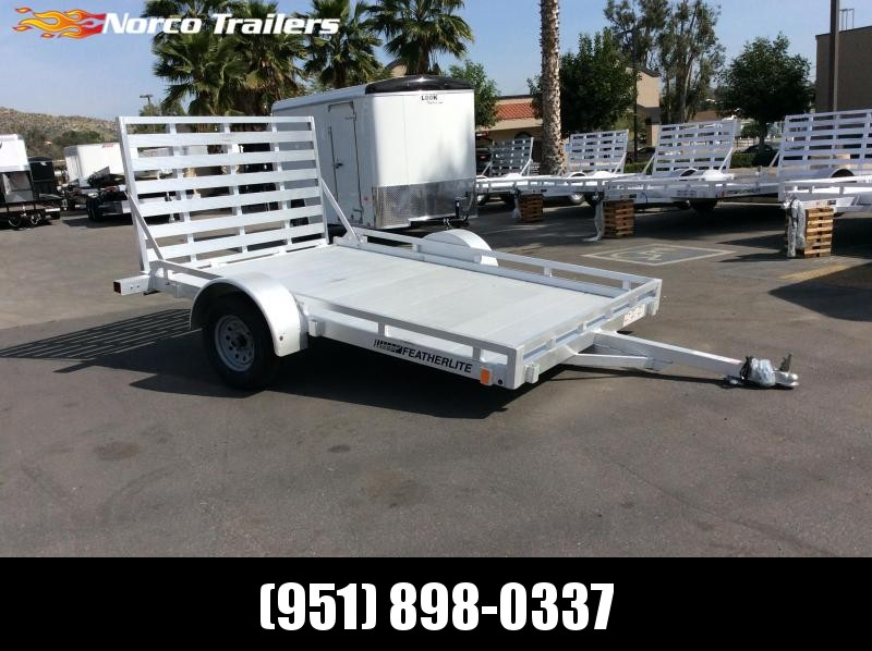 2017 Featherlite 1693 6.5' x 10' Open Utility Motorcycle Trailer in Ashburn, VA