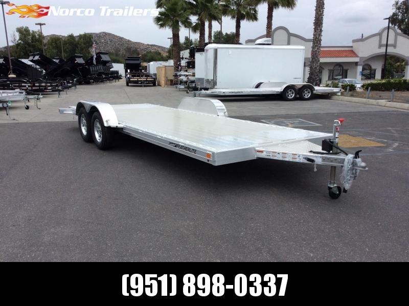 2019 Featherlite 3182 8.5' x 20' 7k Flatbed Car Trailer in Ashburn, VA