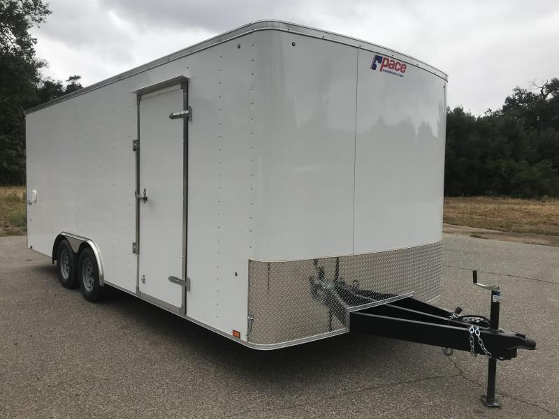 2019 Pace American Outback 8.5' x 20'  Car Trailer