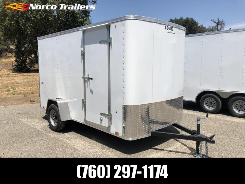 2019 Look Trailers STLC 6' x 12' Cargo / Enclosed Trailer