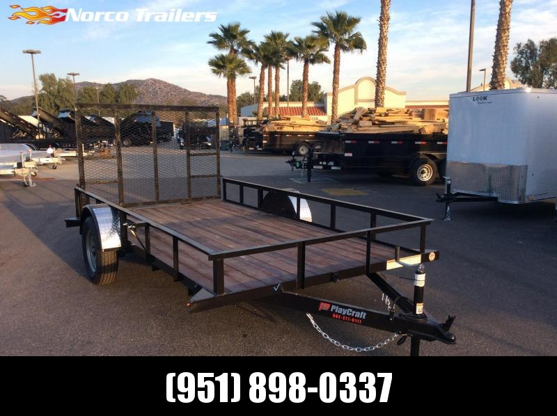 "2019 Playcraft 77"" X 12' Single Axle Utility Trailer"