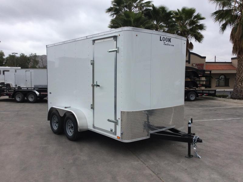 2018 Look Trailers STLC 7' x 12' Tandem Axle Enclosed Cargo Trailer