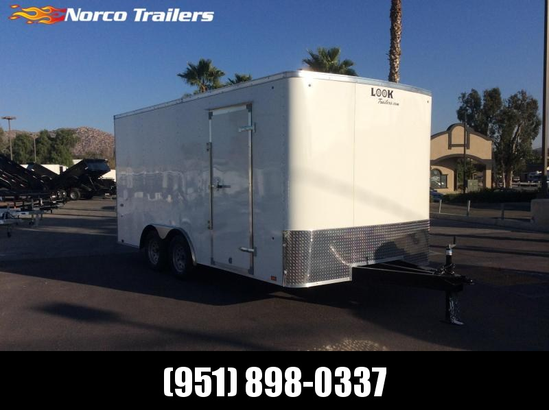 2019 Look Trailers ST 8.5' x 16' Tandem Axle Car / Racing Trailer