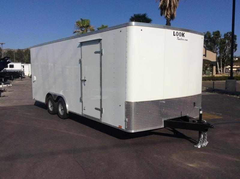 2019 Look Trailers ST 8.5' x 20' Tandem Axle Enclosed Car Trailer