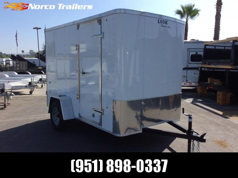 2019 Look Trailers STLC 6' x 10' Enclosed Cargo Trailer
