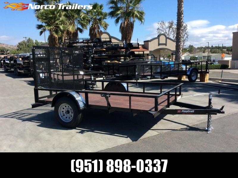 2018 Sun Country Playcraft 77 x 10 Single Axle Utility Trailer