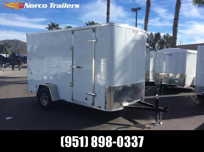 2019 Look Trailers STLC 6' x 12' Single Axle Enclosed Cargo Trailer