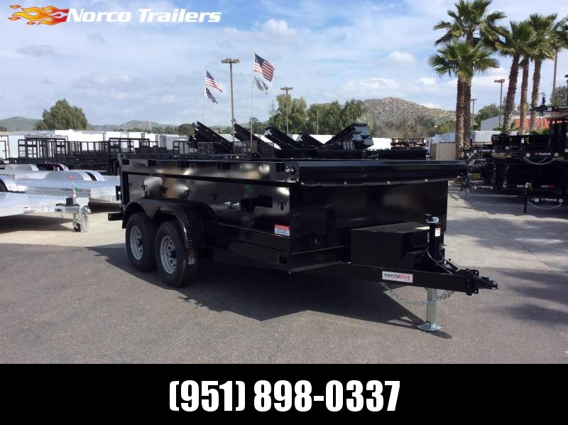 "2019 Innovative Trailer Mfg. 83"" x 12' Dump Trailer"