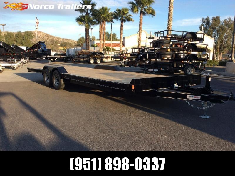 2019 Innovative Trailer Mfg. 102 x 24 Medium Duty Car Hauler/Equipment Trailer Flatbed Trailer