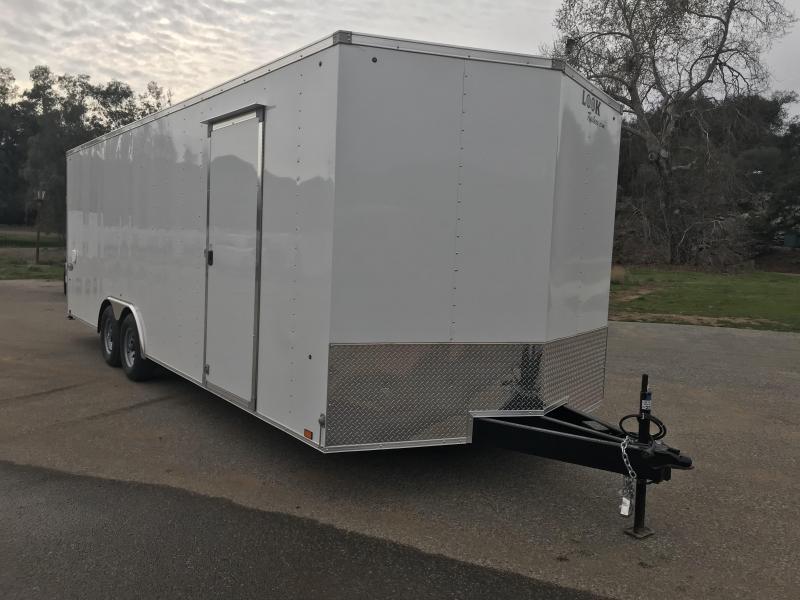 2018 Look Trailers Element Vnose 8.5' x 24' 10K Car / Racing Trailer