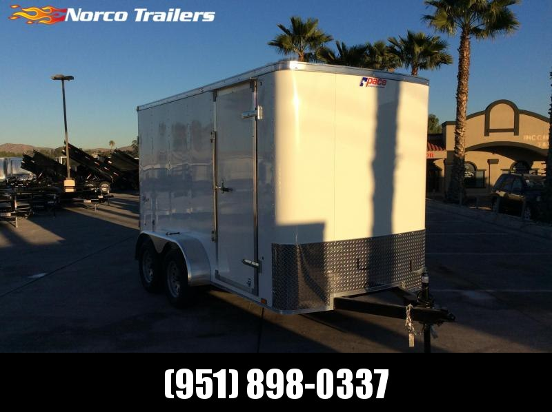2019 Pace American OUTBACK 6 X 12 Tandem axle Enclosed Cargo Trailer