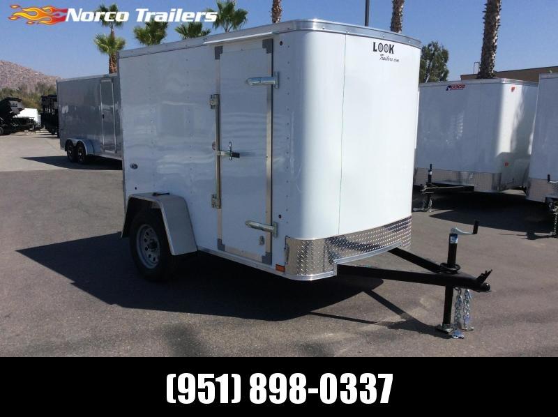 2019 Look Trailers STLC 5 x 8 Single Axle Enclosed Cargo Trailer