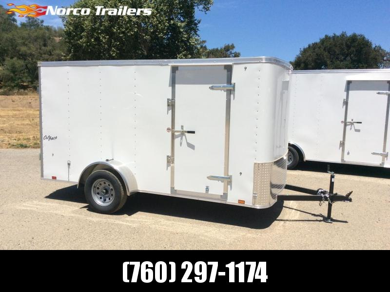 2019 Pace American Outback 6' x 12' Extra Height Enclosed Cargo Trailer