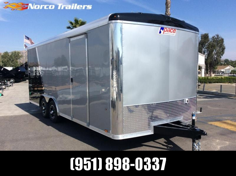 2019 Pace American Cargo Sport 8.5 x 20 Tandem Axle Car / Racing Trailer in Ashburn, VA