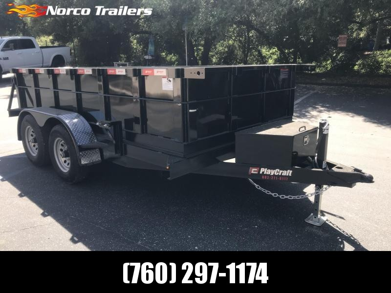 2019 Playcraft 6' x 12' 10K Dump Trailer