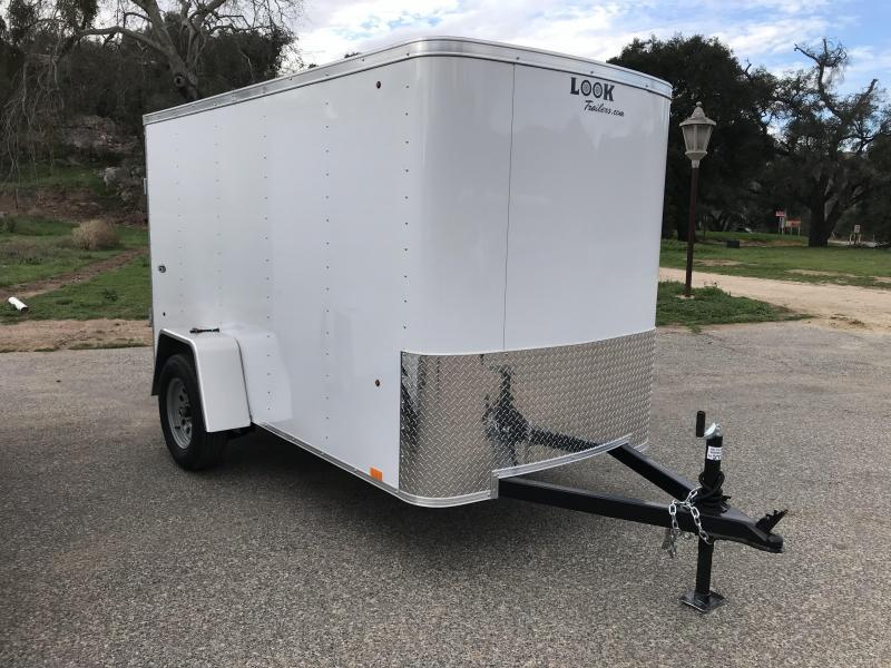 2019 Look Trailers STLC 5' X 10' Cargo / Enclosed Trailer