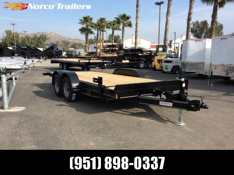 2019 Innovative Trailer Mfg. MD EQ 81 X 18 Flatbed Tilt Trailer