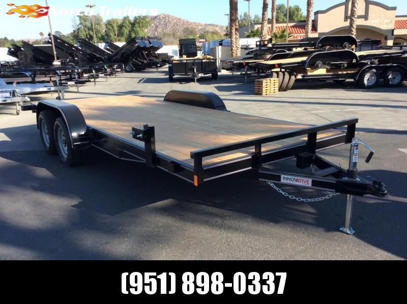 2019 Innovative Trailer Mfg. 83 x 18 Economy Wood Flatbed Trailer