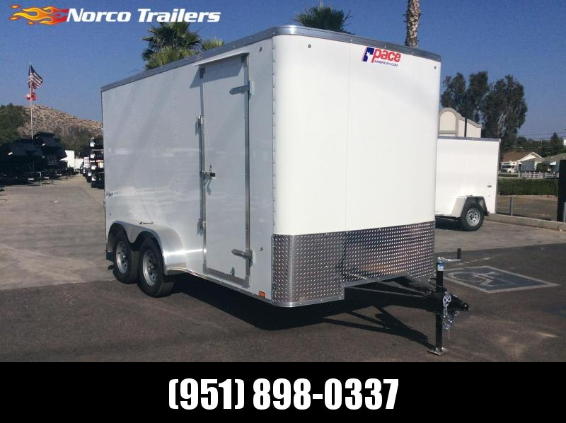 2020 Pace American Outback 7' x 14' Tandem Axle Enclosed Cargo Trailer