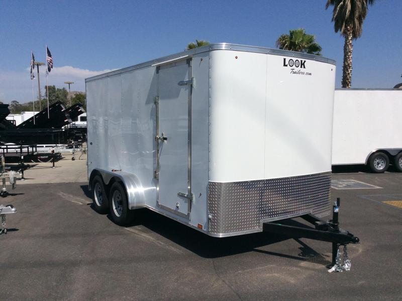 2018 Look Trailers STLC 7' x 14' Tandem Axle Enclosed Cargo Trailer