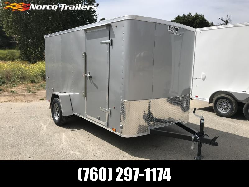 2019 Look Trailers STLC 6' x 12' Enclosed Cargo Trailer