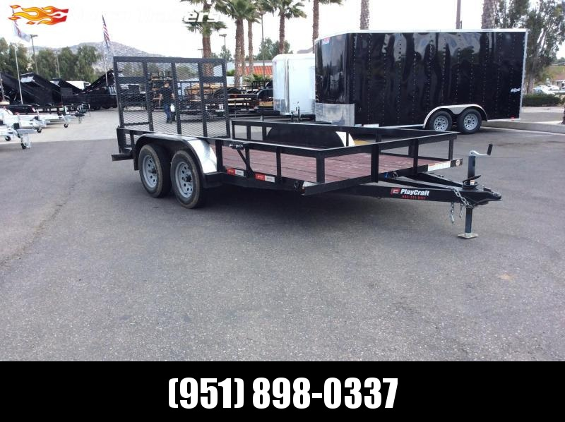 "2018 Sun Country 77"" x 14' Tandem Axle Utility Trailer"